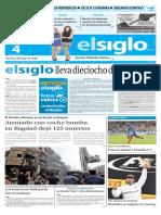 Edición El Siglo 04 de Julio