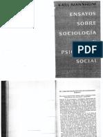 Ensayos Sobre Sociología y Psicología Social