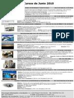 Cursos del ICIC Mérida - Calendario de Junio