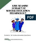 Special Education Terminology (ES_EN)