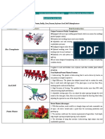 Product Brochure of Amisy Farming Machinery