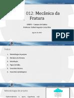 01 - Mecânica Da Fratura