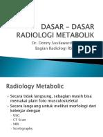Dasar - Dasar Radiologi Metabolik