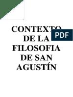 Contexto de La Filosofia de San Agustín