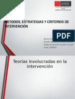 Estrategias y Metodos de Intervencion