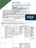 Planeación Didáctica Ciencias II