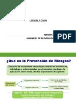 Clase de Legislacion a La Prevención.