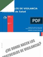 Protocolos de Vigilancia en Chile