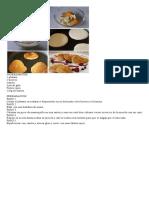 Banana- Tortitas Faciles de a La Sarten