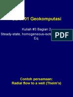 Kuliah #4 Steady-state, Poisson