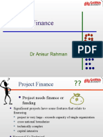 Lecture 5 - Project Finance and Risk Management