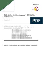 Uml 2.4.1 Specification Superstructure