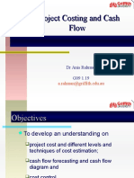 Lecture 6- Project Costing and Cash Flow