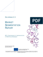 D2.3 Market Segmentation Report
