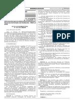 RESOLUCION MINISTERIAL N° 166-2016-MINAM