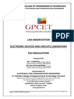 Edc Lab Observation Gpcet (2016-17)