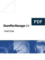 Shareplex Manager 2.2 Installation Guide