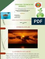 Energia Solar Energia Fotovoltaica