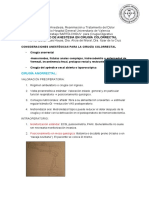Protocolos Anestesia Cirugia Digestivo Anestesia Cirugia Colorrectal
