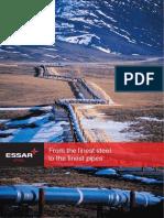 EssarSteel Pipe Brochure