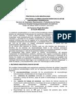 Sartd-Afq-protocolo Neuroradiologia Embolizacion Aneurismas Intracraneales