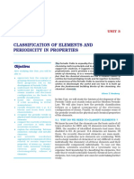 3. Classification of Elements and Periodicity in Properties