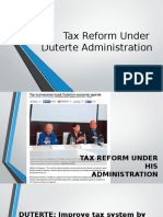 Tax Reform in the Philippines