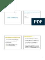 03 Cost Estimating