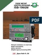 JRC JSB-196GM