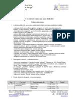 Raport Comisie Susana 2016