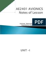 Ae2401 Avionics Nol