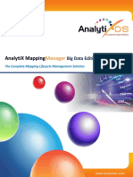 Analytix Mapping Manager Bigdata Edition Datasheet