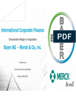 Presentation bayer merck merger Slides