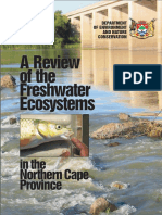 A Review of Freshwater Ecosystems in the Northern Cape