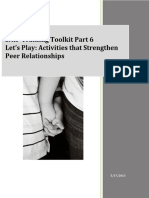 Inclusion Tool Kit Part 6 Lets Play Activities That Strengthen Peer Relationships
