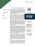 TJ-SP anula plano de recuperação de empresa _ TMA Brasil