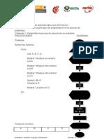 Pseudocódigo DIAGRAMA areas