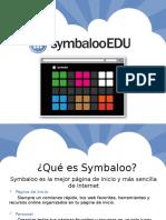 Presentación PowerPoint de SymbalooEDU