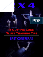 2 x 4 - 5 Cutting Edge Glute Training Tips