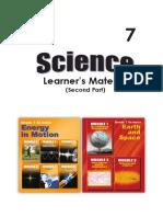 Sci 7 Learner's Module