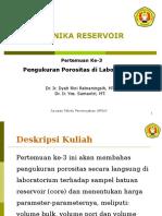 Modul-3 (Pengukuran Porositas Di Lab)