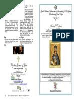 2016 - 11 July - Festal Vespers - Miracle of St Euphemia