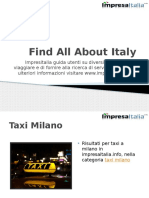 Find All About Italy