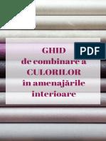 Axelen Ghid de Combinare a Culorilor in Amenajarile Interioare