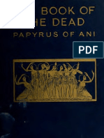 The Book of the Dead (the Papyrus of Ani) Pt.I by E.a.wallis Budge