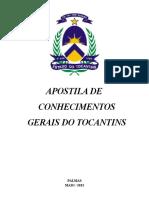 Apostila de Conhecimentos Gerais - ToCANTINS