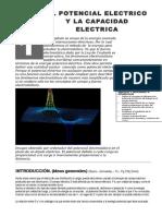 Separata Nº21 - Fisica - El Potencial Electrico y La Capacidad Electrica