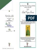2016 -25-26 July - Vespers - St Paraskeve of Rome