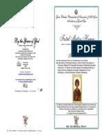 2016 - 27 July - St Panteleimon the Unmercenary