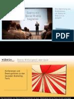 Eventmarketing und Web 2.0